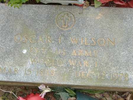 WILSON  (VETERAN WWI), OSCAR F - Poinsett County, Arkansas | OSCAR F WILSON  (VETERAN WWI) - Arkansas Gravestone Photos
