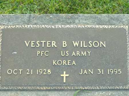 WILSON  (VETERAN KOR), VESTER B - Poinsett County, Arkansas | VESTER B WILSON  (VETERAN KOR) - Arkansas Gravestone Photos