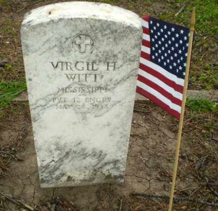 WITT (VETERAN), VIRGIL H - Poinsett County, Arkansas | VIRGIL H WITT (VETERAN) - Arkansas Gravestone Photos