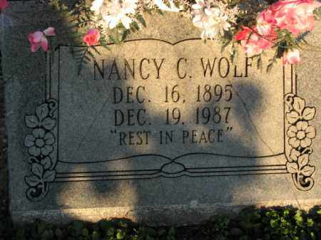 WOLF, NANCY C. - Poinsett County, Arkansas | NANCY C. WOLF - Arkansas Gravestone Photos
