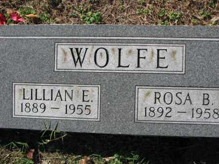 WOLFE, ROSA B. - Poinsett County, Arkansas | ROSA B. WOLFE - Arkansas Gravestone Photos