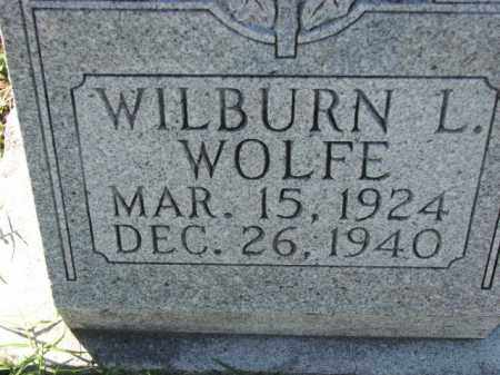 WOLFE, WILBURN L. - Poinsett County, Arkansas | WILBURN L. WOLFE - Arkansas Gravestone Photos