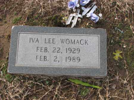 WOMACK, IVA LEE - Poinsett County, Arkansas | IVA LEE WOMACK - Arkansas Gravestone Photos
