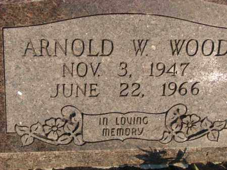 WOOD, ARNOLD W. - Poinsett County, Arkansas | ARNOLD W. WOOD - Arkansas Gravestone Photos