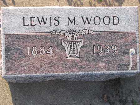 WOOD, LEWIS M. - Poinsett County, Arkansas | LEWIS M. WOOD - Arkansas Gravestone Photos