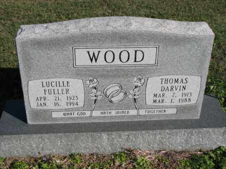 FULLER WOOD, LUCILLE - Poinsett County, Arkansas | LUCILLE FULLER WOOD - Arkansas Gravestone Photos
