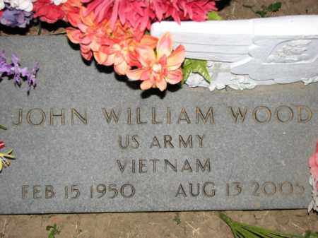 WOOD (VETERAN VIET), JOHN WILLIAM - Poinsett County, Arkansas | JOHN WILLIAM WOOD (VETERAN VIET) - Arkansas Gravestone Photos