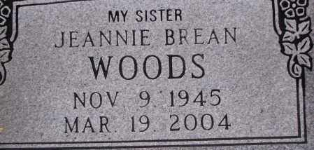 WOODS, JEANNIE - Poinsett County, Arkansas | JEANNIE WOODS - Arkansas Gravestone Photos