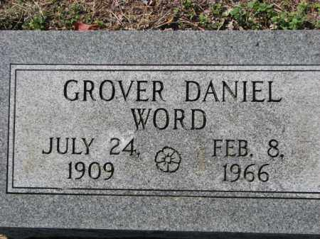 WORD, GROVER DANIEL - Poinsett County, Arkansas | GROVER DANIEL WORD - Arkansas Gravestone Photos