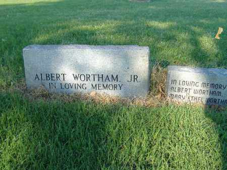 WORTHAM, JR, ALBERT - Poinsett County, Arkansas | ALBERT WORTHAM, JR - Arkansas Gravestone Photos