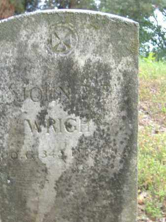 WRIGHT  (VETERAN), JOHN B B - Poinsett County, Arkansas | JOHN B B WRIGHT  (VETERAN) - Arkansas Gravestone Photos
