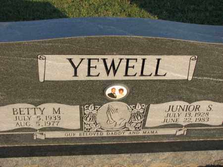 YEWELL, JUNIOR S. - Poinsett County, Arkansas | JUNIOR S. YEWELL - Arkansas Gravestone Photos