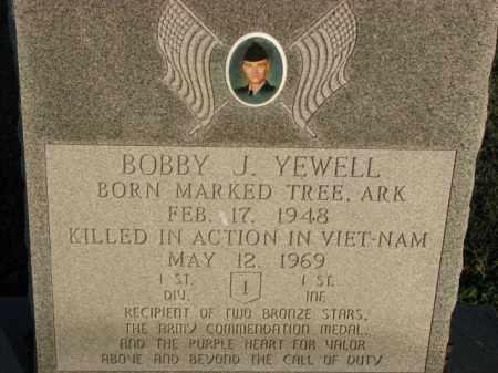 YEWELL (VETERAN VIET, KIA), BOBBY J - Poinsett County, Arkansas | BOBBY J YEWELL (VETERAN VIET, KIA) - Arkansas Gravestone Photos