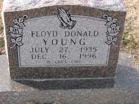 YOUNG, FLOYD DONALD - Poinsett County, Arkansas | FLOYD DONALD YOUNG - Arkansas Gravestone Photos