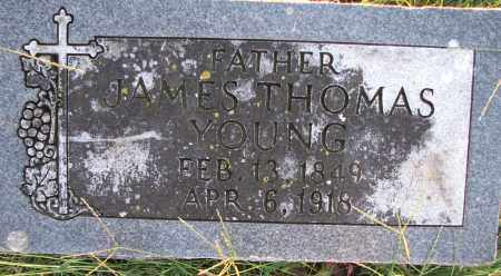 YOUNG, JAMES THOMAS - Poinsett County, Arkansas | JAMES THOMAS YOUNG - Arkansas Gravestone Photos