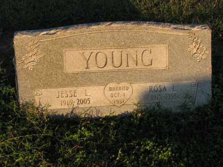 YOUNG, JESSE L. - Poinsett County, Arkansas | JESSE L. YOUNG - Arkansas Gravestone Photos