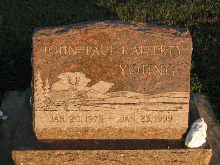 YOUNG, JOHN-PAUL RAFFERTY - Poinsett County, Arkansas | JOHN-PAUL RAFFERTY YOUNG - Arkansas Gravestone Photos