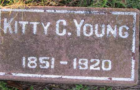 YOUNG, KITTY - Poinsett County, Arkansas | KITTY YOUNG - Arkansas Gravestone Photos