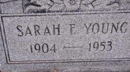YOUNG, SARAH E. - Poinsett County, Arkansas | SARAH E. YOUNG - Arkansas Gravestone Photos