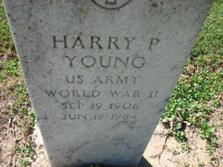 YOUNG (VETERAN WWII), HARRY P - Poinsett County, Arkansas | HARRY P YOUNG (VETERAN WWII) - Arkansas Gravestone Photos