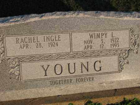 YOUNG, WIMPY L. - Poinsett County, Arkansas | WIMPY L. YOUNG - Arkansas Gravestone Photos