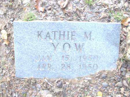YOW, KATHIE M. - Poinsett County, Arkansas | KATHIE M. YOW - Arkansas Gravestone Photos