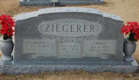 ZIEGERER, ROSA - Poinsett County, Arkansas | ROSA ZIEGERER - Arkansas Gravestone Photos