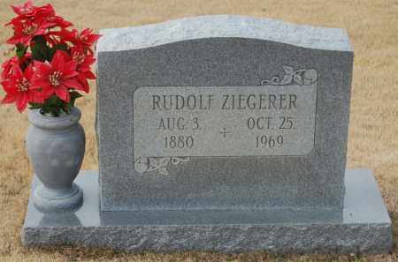 ZIEGERER, RUDOLF - Poinsett County, Arkansas | RUDOLF ZIEGERER - Arkansas Gravestone Photos