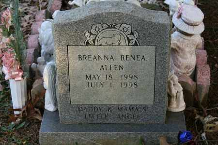 ALLEN, BREANNA RENEA - Polk County, Arkansas | BREANNA RENEA ALLEN - Arkansas Gravestone Photos