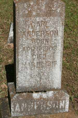 ANDERSON, CARL - Polk County, Arkansas | CARL ANDERSON - Arkansas Gravestone Photos