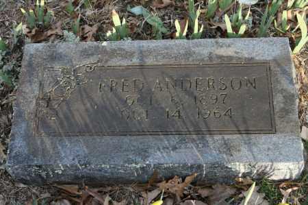 ANDERSON, FRED - Polk County, Arkansas | FRED ANDERSON - Arkansas Gravestone Photos