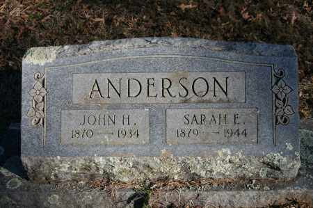ANDERSON, SARAH E. - Polk County, Arkansas | SARAH E. ANDERSON - Arkansas Gravestone Photos