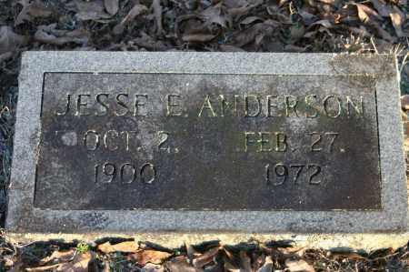 ANDERSON, JESSE E. - Polk County, Arkansas | JESSE E. ANDERSON - Arkansas Gravestone Photos