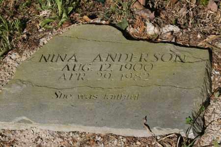 ANDERSON, NINA - Polk County, Arkansas | NINA ANDERSON - Arkansas Gravestone Photos