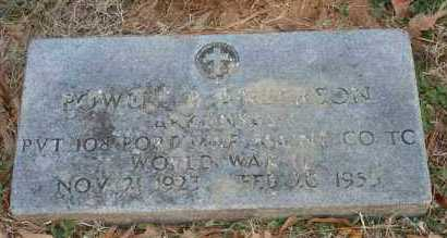 ANDERSON (VETERAN WWII), POWELL B - Polk County, Arkansas | POWELL B ANDERSON (VETERAN WWII) - Arkansas Gravestone Photos