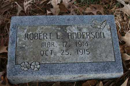 ANDERSON, ROBERT L. - Polk County, Arkansas | ROBERT L. ANDERSON - Arkansas Gravestone Photos