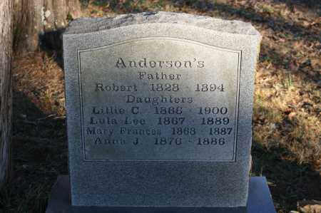 ANDERSON, ANNA J. - Polk County, Arkansas | ANNA J. ANDERSON - Arkansas Gravestone Photos