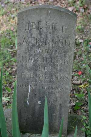 ATKINSON, JESSE E. - Polk County, Arkansas | JESSE E. ATKINSON - Arkansas Gravestone Photos