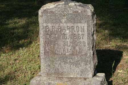 BARRON, B.F. - Polk County, Arkansas | B.F. BARRON - Arkansas Gravestone Photos