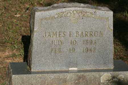 BARRON, JAMES F. - Polk County, Arkansas | JAMES F. BARRON - Arkansas Gravestone Photos