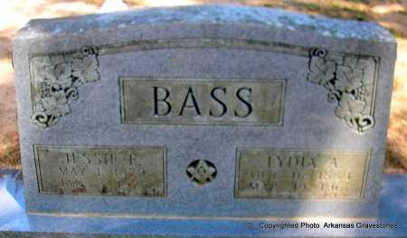 BASS, LYDIA A - Polk County, Arkansas | LYDIA A BASS - Arkansas Gravestone Photos
