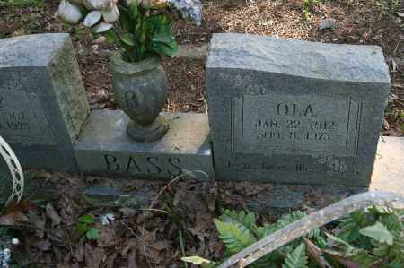 BASS, OLA - Polk County, Arkansas | OLA BASS - Arkansas Gravestone Photos