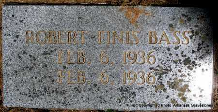 BASS, ROBERT FINIS - Polk County, Arkansas | ROBERT FINIS BASS - Arkansas Gravestone Photos