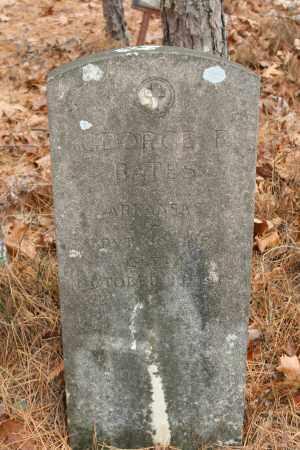 BATES (VETERAN), GEORGE F - Polk County, Arkansas | GEORGE F BATES (VETERAN) - Arkansas Gravestone Photos