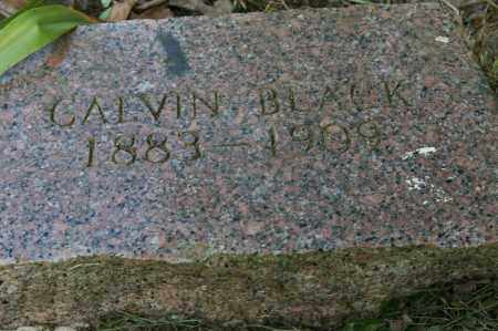BLACK, CALVIN - Polk County, Arkansas | CALVIN BLACK - Arkansas Gravestone Photos