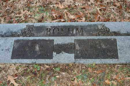 BOEHM, MINERVA - Polk County, Arkansas | MINERVA BOEHM - Arkansas Gravestone Photos