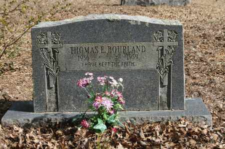 BOURLAND, THOMAS E. - Polk County, Arkansas | THOMAS E. BOURLAND - Arkansas Gravestone Photos