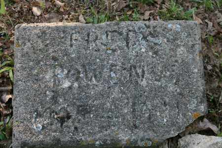 BOWEN, FRED - Polk County, Arkansas | FRED BOWEN - Arkansas Gravestone Photos