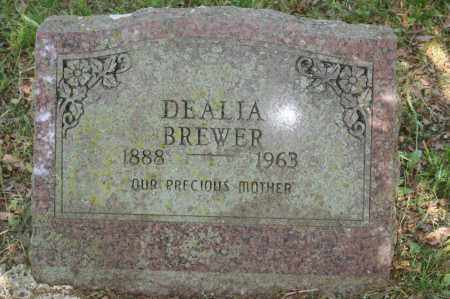 BREWER, DEALIA - Polk County, Arkansas | DEALIA BREWER - Arkansas Gravestone Photos