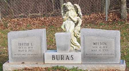 BURAS, TRESSIE L. - Polk County, Arkansas | TRESSIE L. BURAS - Arkansas Gravestone Photos